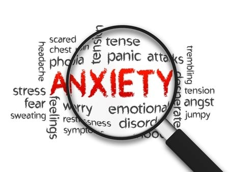 response to anxiety